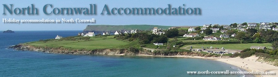 Hotels and bed and breakfast hotels in North Cornwall.