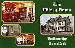 A warm welcome awaits you at the Wilsey Down. A small function room is available for business meetings, and small parties. A non-smoking room for eating is also available.
